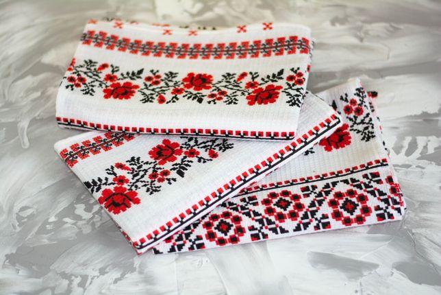 Кухонные полотенца 3шт Вишиванка Комплект