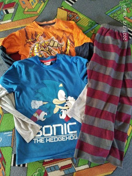Вещи для мальчика регланы флисовые штаны 8-9 лет