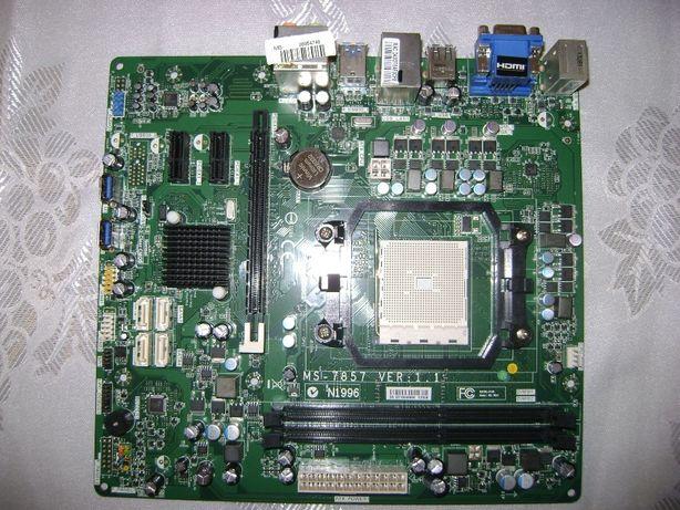płyta główna MS-7857 s. FM2 AMD DDR3 gniazda karty graficznej VGA HDMI
