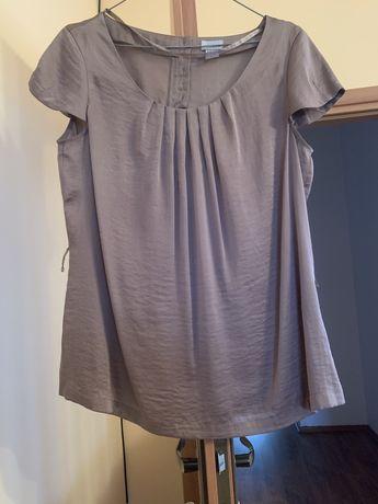 Miedziana elegancka bluzka H&M 42