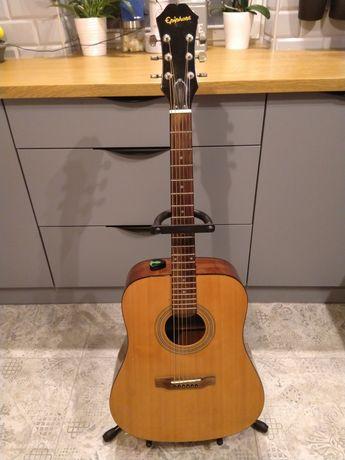 Gitara akustyczna Epiphone DR 100 NA + pokrowiec