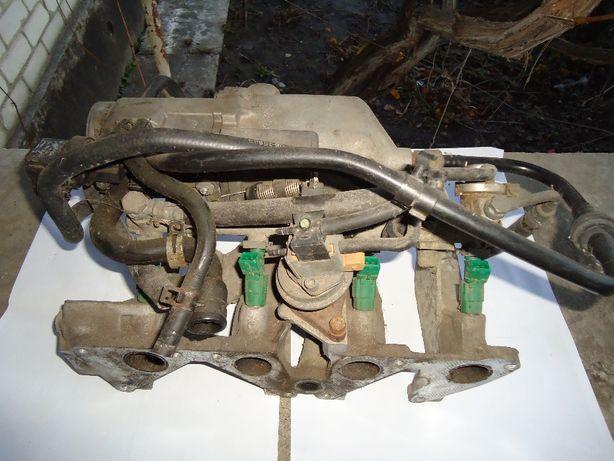 Инжектор / впускной коллектор с навесным - Opel Vectra A , Omega A