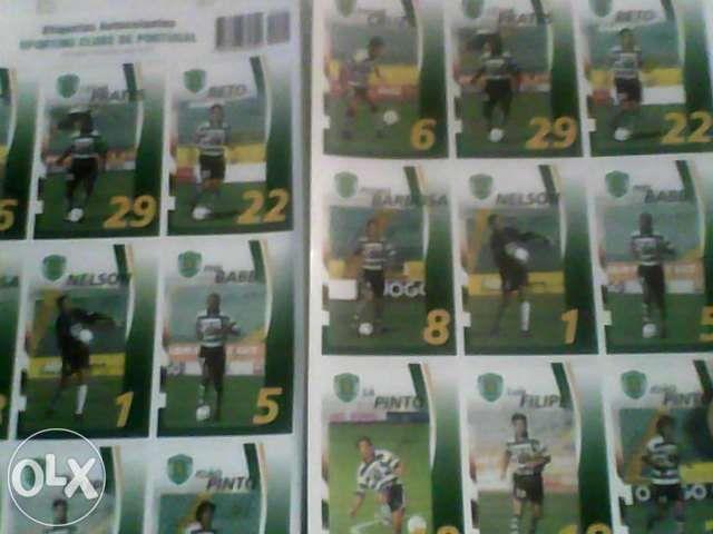 Etiquetas autocolantes sporting 2001 Tornada E Salir Do Porto - imagem 1