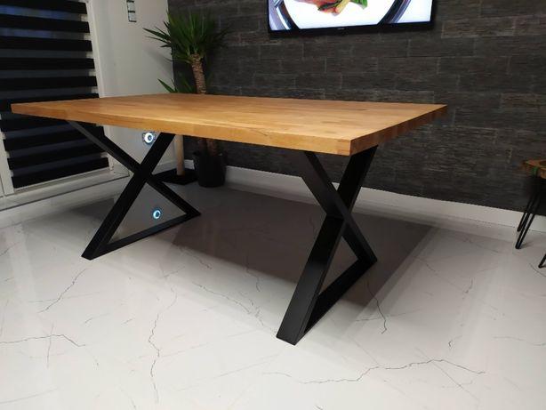 Stół loftowy bukowy