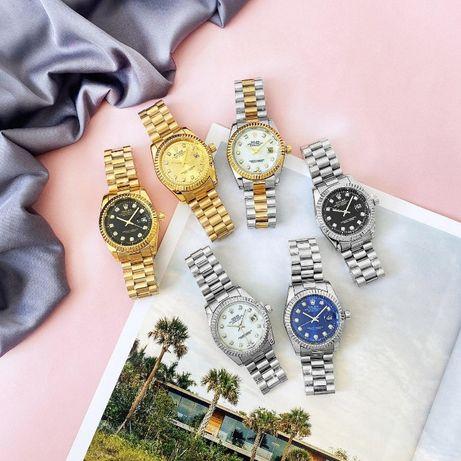 Стильные Rolex DateJust (20 расцветок). Наручные мужские-женские часы!