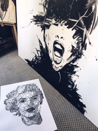 Obraz ze zdjęcia na zamówienie,portret,karykatura,grafika,płótno,logo