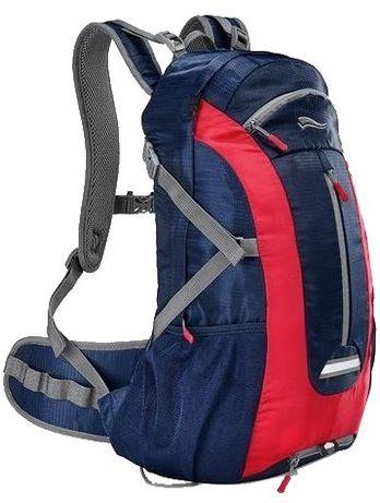 Рюкзак спортивный с дождевиком Crivit 25L черный, синий, сирень