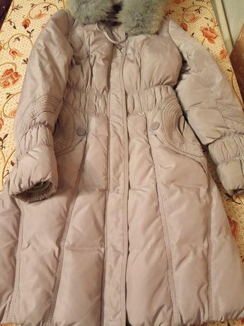 Пуховик, пальто розмір L