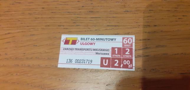 Bilet autobusowy Warszawa 2010