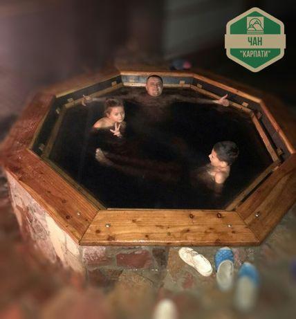 Чан Карпати від виробника для лазні банный Чан Карпаты на дровах бани