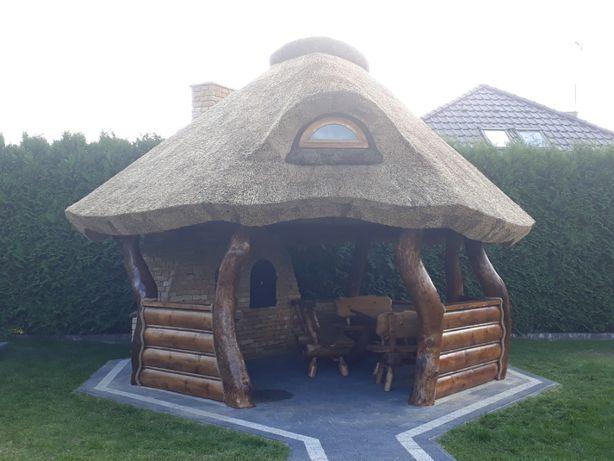 Altana strzecha Altany z trzciny dachy z trzciny
