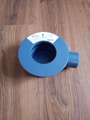 Tece kolano odpływowe z syfonem niskie 95 mm, 0, 7 l/s
