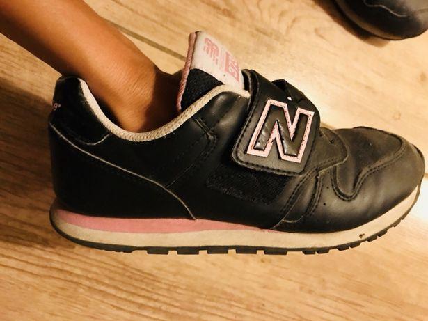 new balance NB adidasy buty czarne rozowe