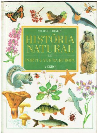9898 A História Natural de Portugal e da Europa- de Michael Chinery-