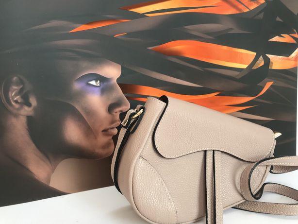Torebka jak Dior siodło skóra naturalna