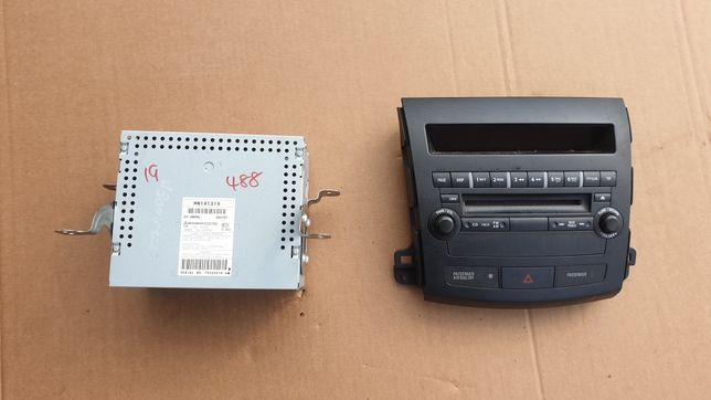 Mitsubishi outlander II radio panel radia komplet