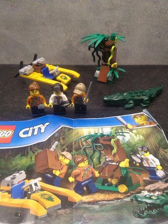 Lego 60157 Jungle zestaw startowy Dżungla City klocki zestaw