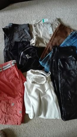 Spodnie kurtki jak za darmo