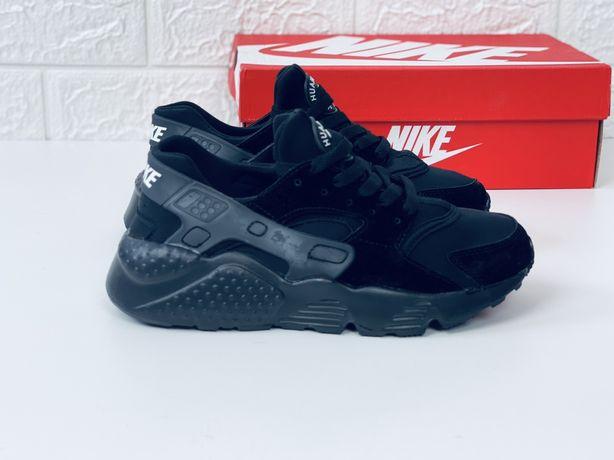 Nike air max huarache All black кросівки найк хуарачі кросовки найк ху