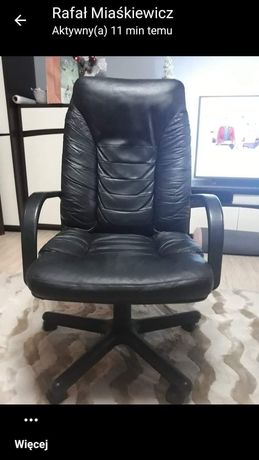 Fotel czarny duzy
