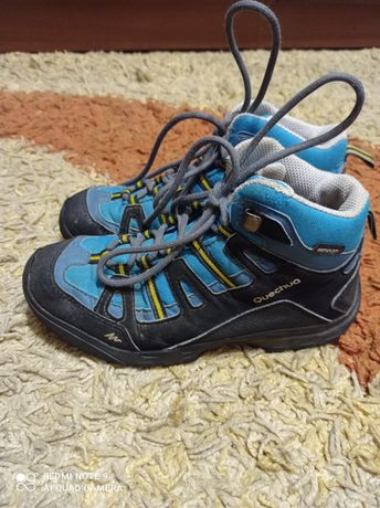 Детские демисезонные ботинки размер 34