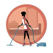 Faco limpezas e serviços domésticos