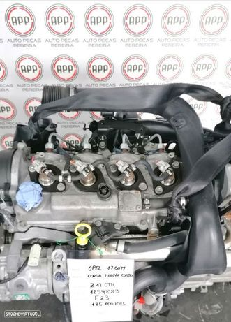 . Motor Opel Corsa C, Meriva, Combo 1.7 CDTI referência Z17DTH aproximadamente 185 000 kms.
