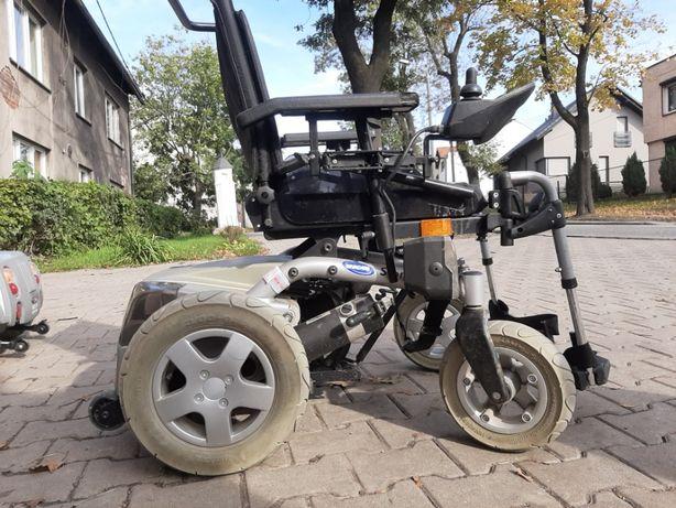Storm Invacare wózek inwalidzki elektryczny - nowe akumulatory -