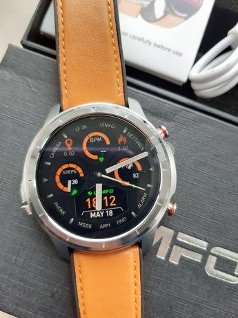 SmartWatch 1,3 360x360 metalowy srebrny - nowy