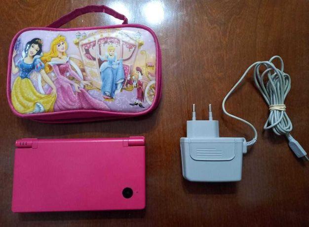 Nintendo DSi (Pink Edition) + Bolsa + Carregador Oficial