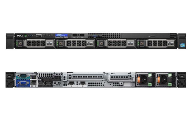 DELL R430   2 x E5-2620V3   16GB DDR4   H730 MINI   IDRAC8