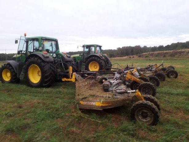 Usługi rolnicze: Koszenie łąk, mulczowanie, prasowanie siana słomy