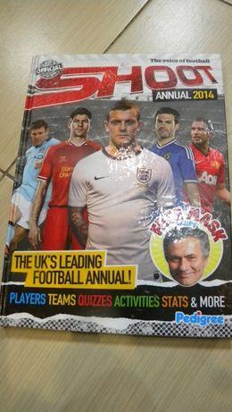 Album piłkarski The voice of football SHOOT Annual 2014 w języku angie
