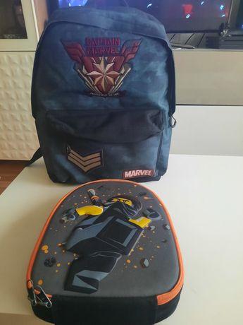 Conjunto mochila e lancheira