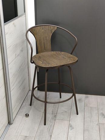 Krzesło barowe, industrialny  hoker loft