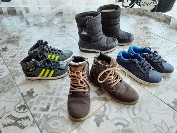 Детские кроссовки ADIDAS, зимние ботинки сапоги Tommy Hilfiger кроксы