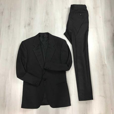 L Костюм смокинг полушерстяной классический пиджак брюки M&S