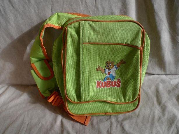 tornister/torba na ramię dla dziecka Kubuś + naklejki kubusiowe GRATIS
