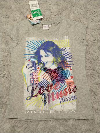 Bluzka T-shirt Violetta 128 140 cm