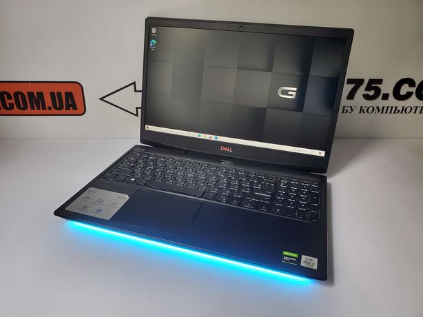 "Игровой ноутбук Dell, 15.6"" 300Hz, Core i7 5GHz, GTX 1660Ti, 1TB SSD"