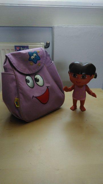 Plecak z Dorą, lalka gratis