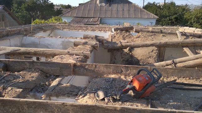 Демонтажные работы/ Алмазная резка/ Снос, слом стен, сантехкабин