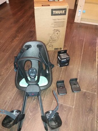 Fotelik rowerowy Thule Yepp Nexxt mini przedni, na gwarancji!