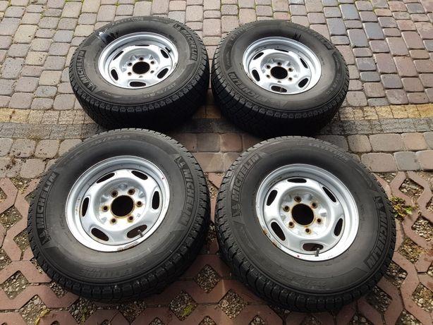 Opony + felgi M+S Michelin 235/75 R15 - koła z Forda Rangera