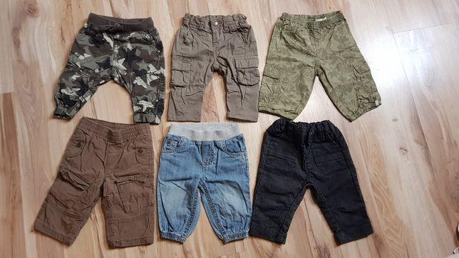 Zestaw spodni dla chłopca rozmiar 62/68