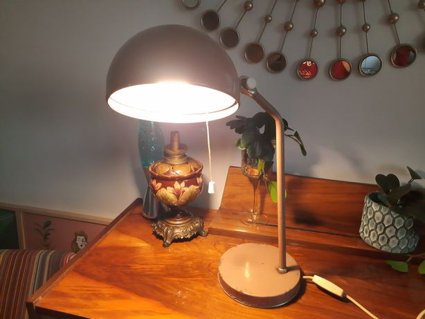 Zaos lampa biurowa prl lata 70-te