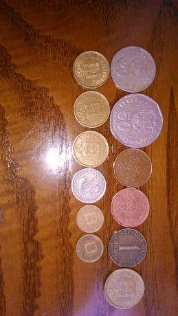 Vendo conjunto de moedas. Por 17eurod