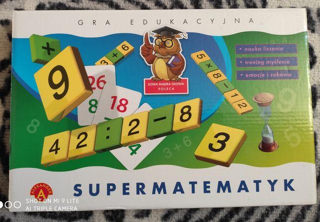 Gra: Super matematyk, Samoloty-Sky race
