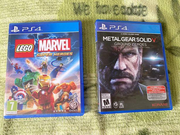 Игры PS4 Lego Marvel Super Heroes, Metal Gear Solid 5