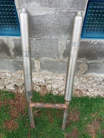 Выхлопна труба нержавейка МТ10